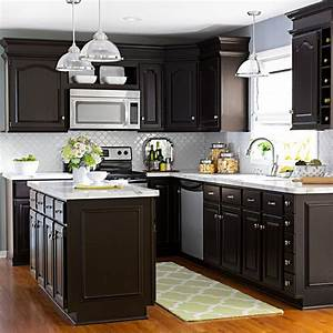 best 25 cabinet transformations ideas on pinterest With best brand of paint for kitchen cabinets with luminaires papier