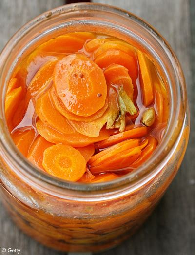 cuisine au gingembre pickle de carottes au gingembre recette tables et cuisine