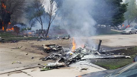 Plane That Crashed In Joliet May Have Broken Up In The Air