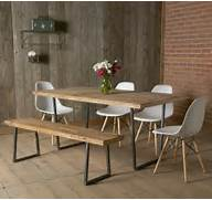 Modern Rustic Wood Dining Table by Buy A Custom Made Brooklyn Modern Rustic Reclaimed Wood Dining Table Made To