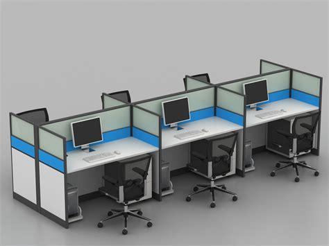 bureau furniture blue white 4 seat funky office furniture for wholesale