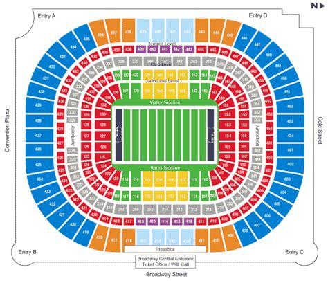 edward jones dome st louis rams football stadium stadiums  pro football