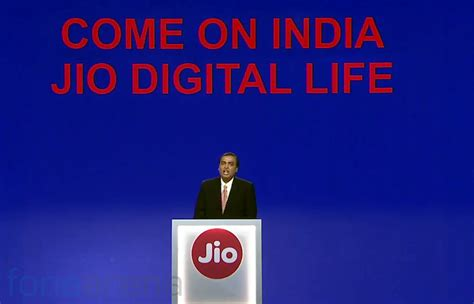 reliance jio launched with free voice calls rs 50 for 1gb data free for all from sep 5 till