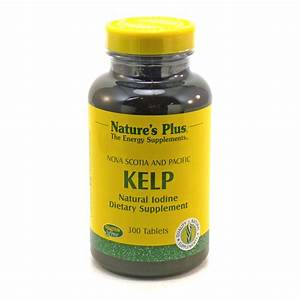 Kelp Natural Iodine By Nature U0026 39 S Plus