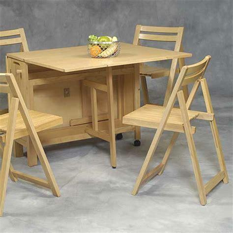 table cuisine avec chaises designs créatifs de table pliante de cuisine archzine fr