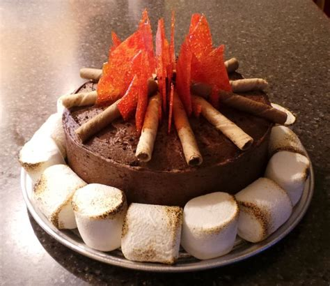 pinterest cub scout campfire cake primary campfire