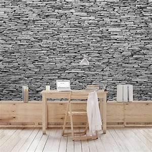 Wand Mit Steinoptik : dekorative wandgestaltung in steinoptik ~ Watch28wear.com Haus und Dekorationen