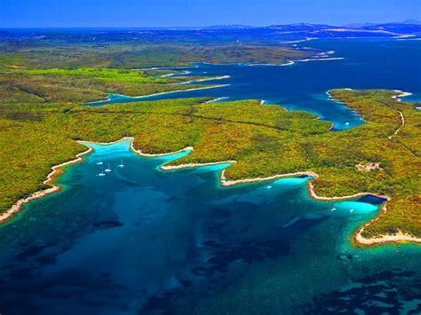 Sea Coast Of The Adriatic Sea Croatia Wallpaper
