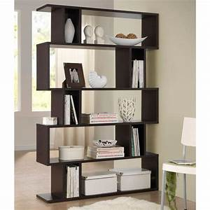 hampton bay 3 shelf decorative bookcase in dark brown With house design new model shelves
