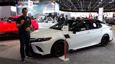 toyota camry trd deliver  performance