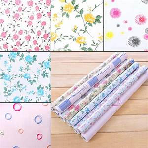 yazi contact paper vinyl self adhesive floral wallpaper With kitchen cabinets lowes with vinyl sticker transfer paper