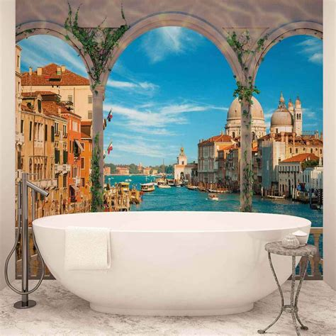 wall mural photo wallpaper xxl arches venice italy ws