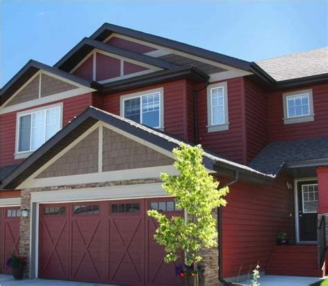 dark red house google search   house paint