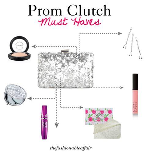fashionable affair prom tips clutch