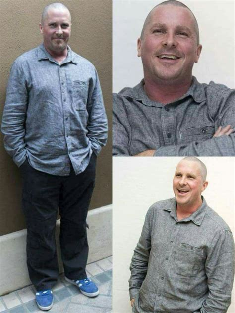 Check Out Christian Bale Jaw Dropping Transformation