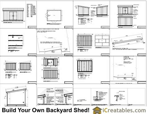 12x16 Shed Plans Material List by 12x16 Lean To Shed Plans 12x16 Storage Shed Plans