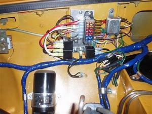 Internal Wiring On A Gt And Fusebox Mounting Plate  Engine