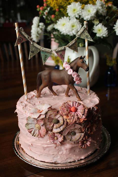 2 Layer Cake, 2nd Birthday, Horse Themed Cake Cakes