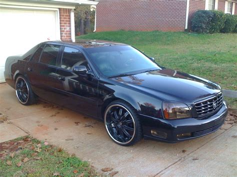 2001 Cadillac Deville On 22s Cadillac Deville Dts