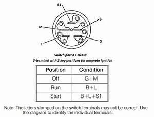 Switch Ignition Magneto 116338  Jpg