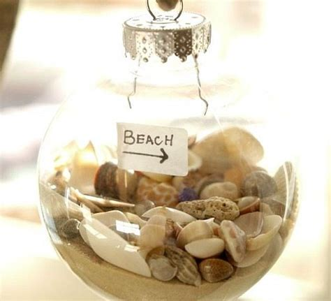 beach christmas decorations ideas inspired  sea sand