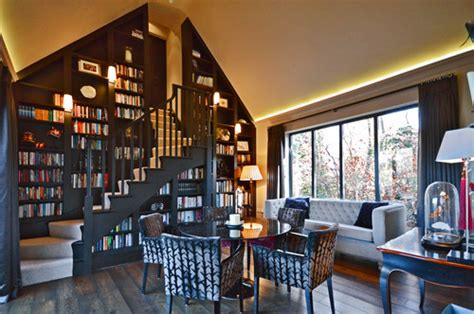 stylish home libraries angie greaves