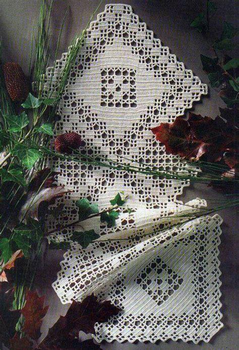 crochet table runner crochet kingdom   crochet