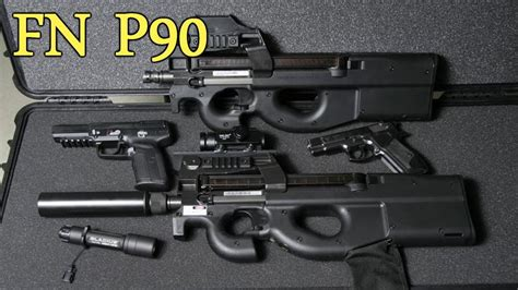 Fn P90 How It Works [full Disassembly And Operation]