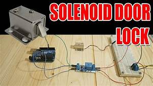 Relay Module   Solenoid Door Lock How To Control Them With
