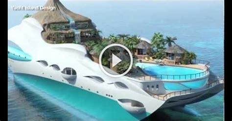 yacht island tropical island luxury yacht