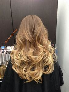 Balayage Ombré Blond : graduated balayage ombre by guy tang yelp ~ Carolinahurricanesstore.com Idées de Décoration