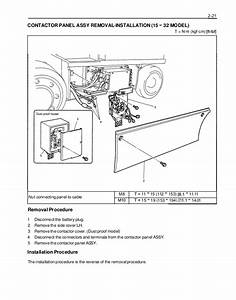 Toyota 7fbcu30 Forklift Service Repair Manual