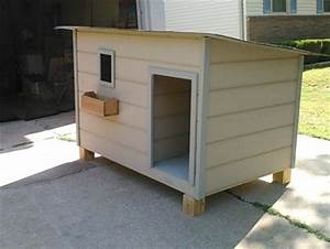 Air conditioned dog house by myfixit5050 lumberjocks for Insulated dog houses for winter
