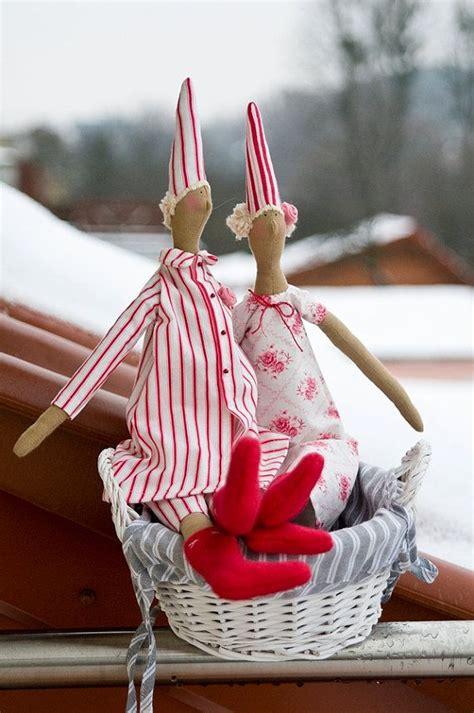 tilda pyjamas angel doll christmas christmas love and dolls