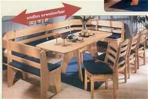 Eckbank U Form : st hle und b nke kiefer massivholzm bel dam 2000 ~ Michelbontemps.com Haus und Dekorationen