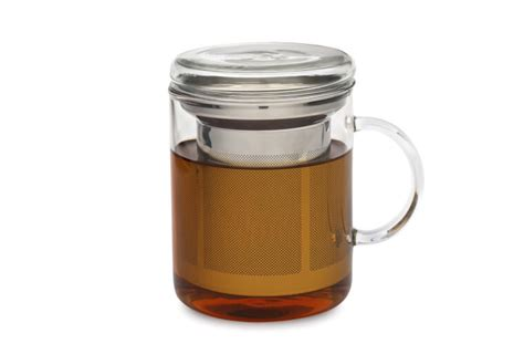 Glass Mug And Infuser From Adagio Teas