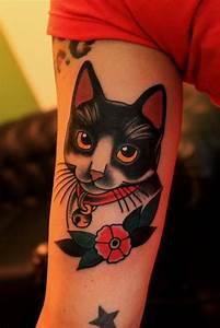 51 Cute Cat Tattoo Designs   Amazing Tattoo Ideas