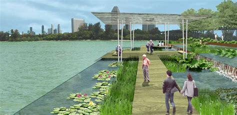 waterfront landscape singapore landscape waterfront gardens contest e architect