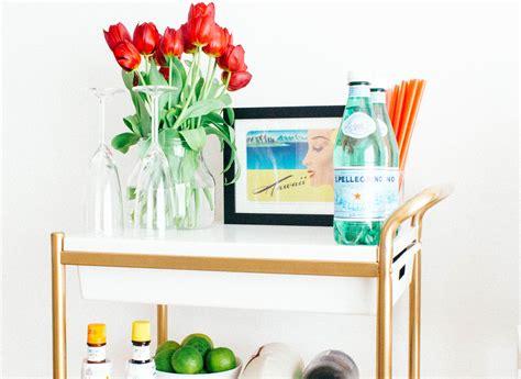 Ikea Bygel Cart Makeover-seefoodplay.com