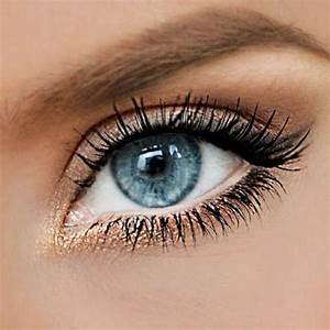 eyes makeup blue natural | Makeup | Pinterest