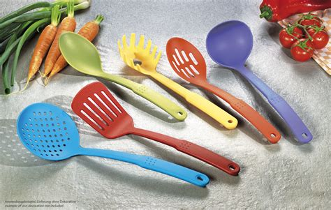 colorful kitchen utensils colorful kitchen utensils set buy at pfannenprofis de 2356