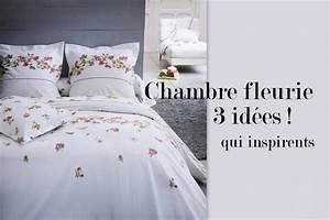 deco chambre fleurie With chambre bébé design avec housse de couette fleurie vintage
