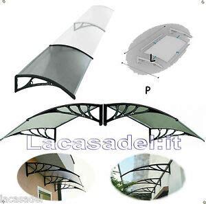 tettoie in policarbonato fai da te lacasadel su misura pensilina tettoia policarbonato
