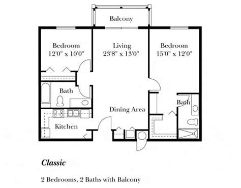 simple kitchen floor plans simple house floor plan with measurements floor plans 5236