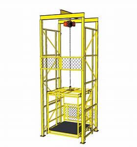 Pembuatan Lift Barang Konstruksi Lift Barang Empat Lantai