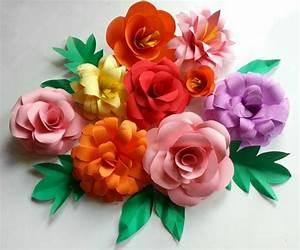 Blumen Aus Papier : blumen selber basteln 55 ideen f r kinder und erwachsene die gern basteln ~ Udekor.club Haus und Dekorationen