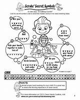 Activities Hand Washing Coloring Hands Secret Pages Clean Symbols Code Words Symbol Scrubs Classroom Lesson Steps Activity Hidden Sheets Flag sketch template