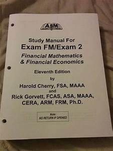 Asm Study Manual Exam Fm  2 11th Edition W   Formula Sheet