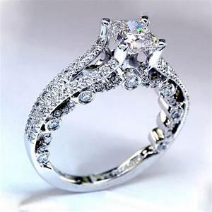 Women White Gold Wedding Ring Designs 2017