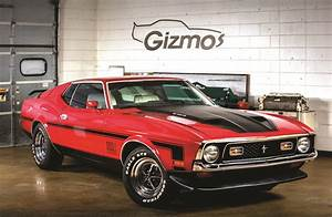 Muscle Cars: 1972 Mustang Mach 1   2016-08-01   NOLN